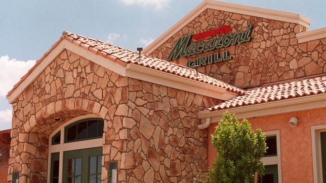 A Romano's Macaroni Grill is pictured.