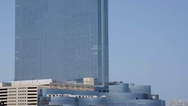 The Revel Casino Hotel is seen in Atlantic City last month.