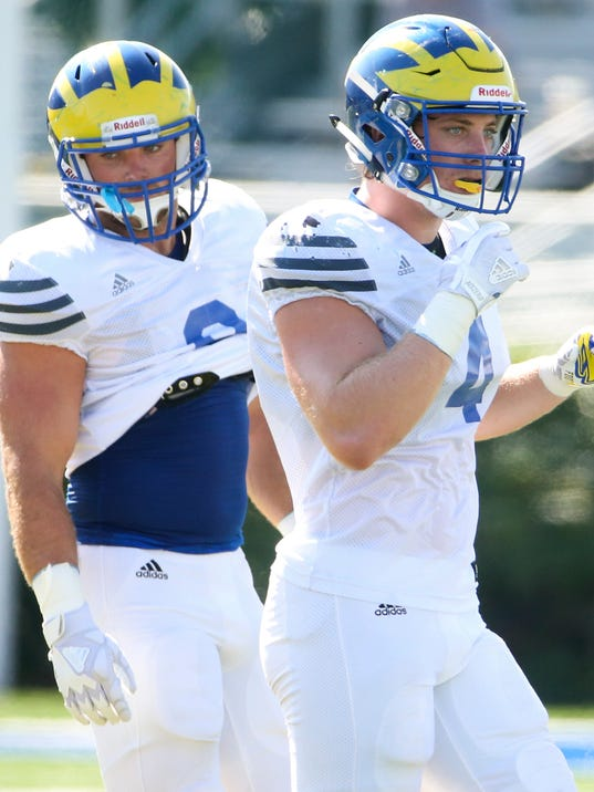 UD FOOTBALL SCRIMMAGE