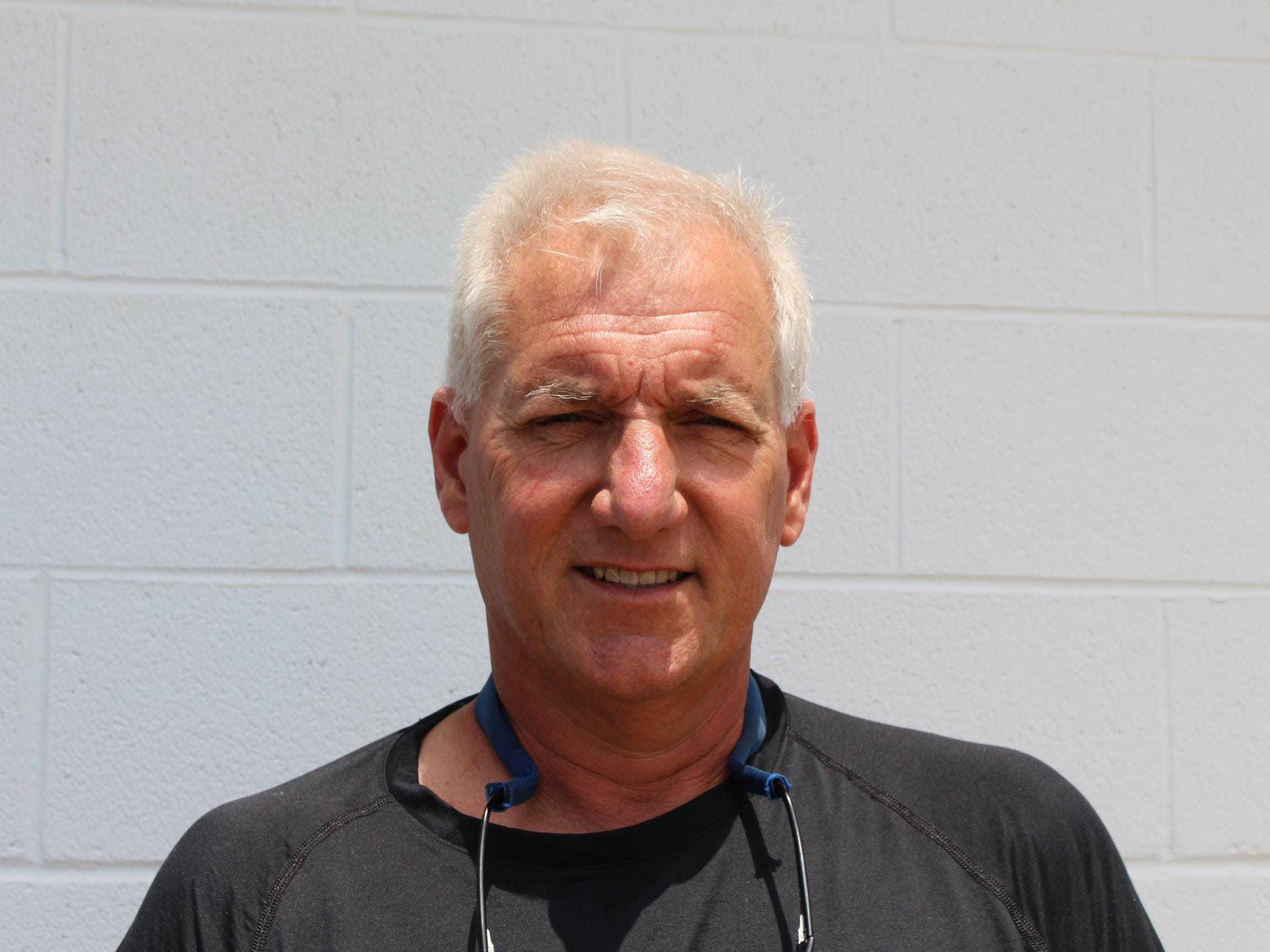 Bayside South Coach of the Year Scott Lathroum.