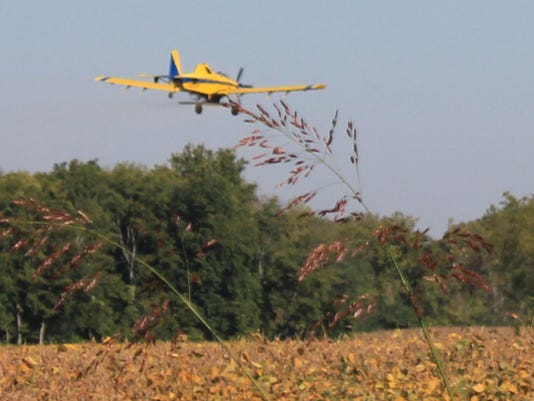 aircraft crop seeding