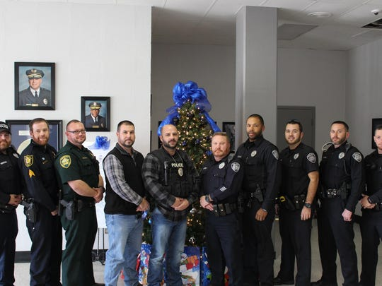 The Jackson Police Department and Madison County Sheriff's Office raised $4,770 for the American Cancer Society by participating in No Shave November.