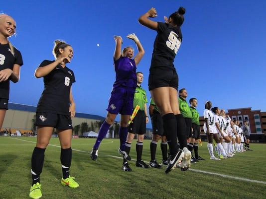 UCF Women's Soccer Senior Knight