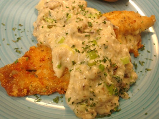 Pringles Fish and Crabmet Sauce