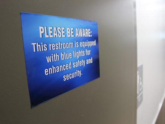 Blue Lights Drug Use