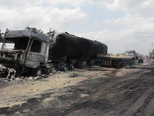 Congo Tanker Truck Fire