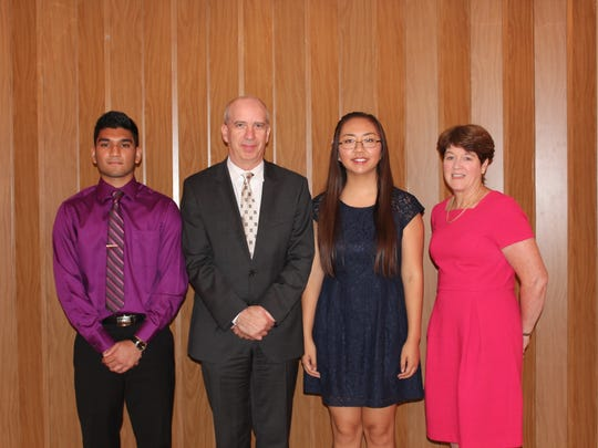 Scholarship winners with Friedberg and Armater.jpg