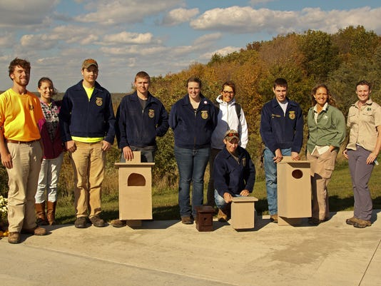 FFA students donate to the Wilds-resized.jpg