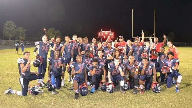 The Palm Bay Rockets Pop Warner football team is heading to the Southeast Regional Championship at Disney's Wide World of Sports on Dec. 6. Once there, the team will fight for a chance to go to the national championships Dec. 12.