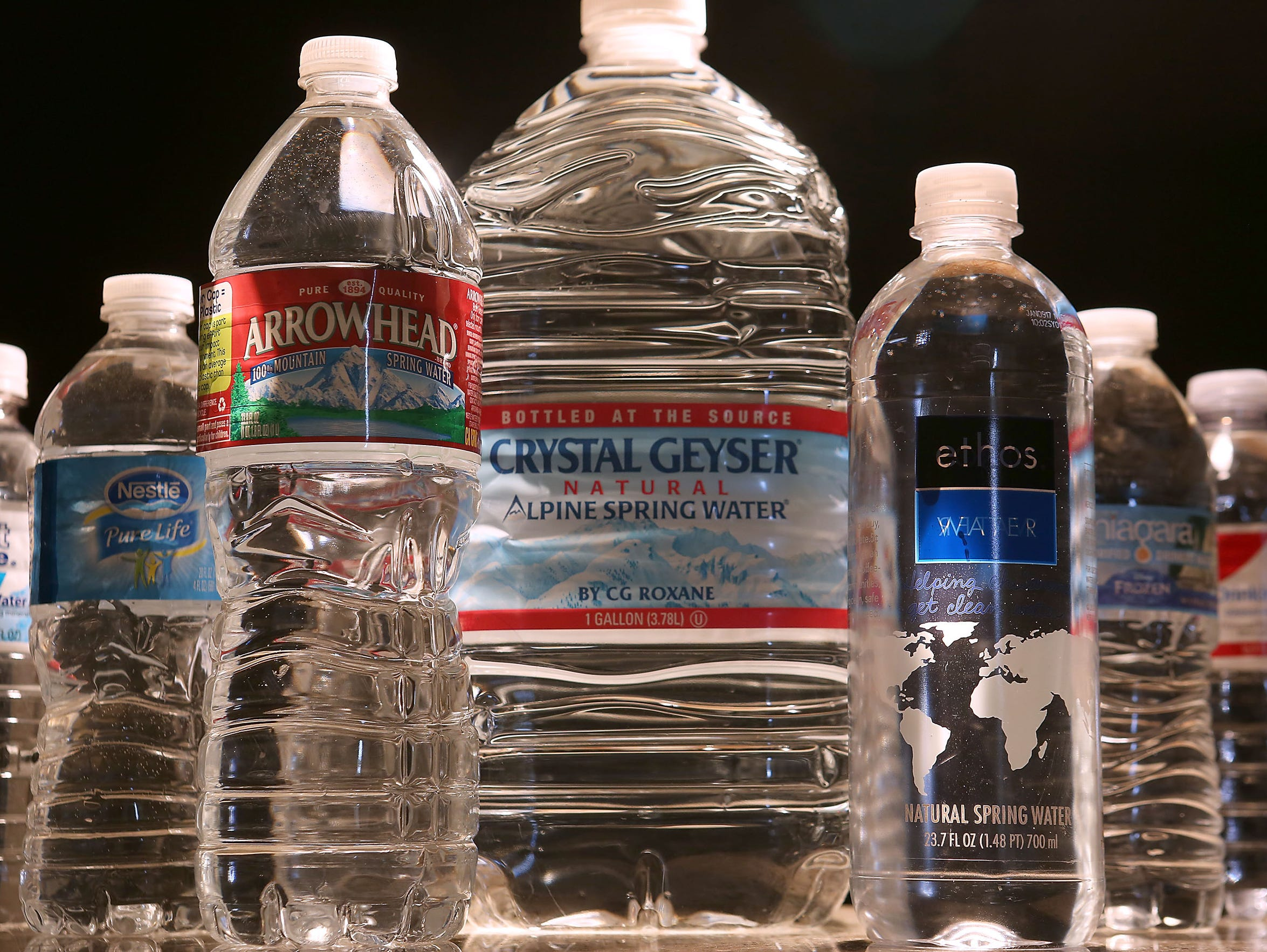 There are 108 licensed bottled water plants in California,