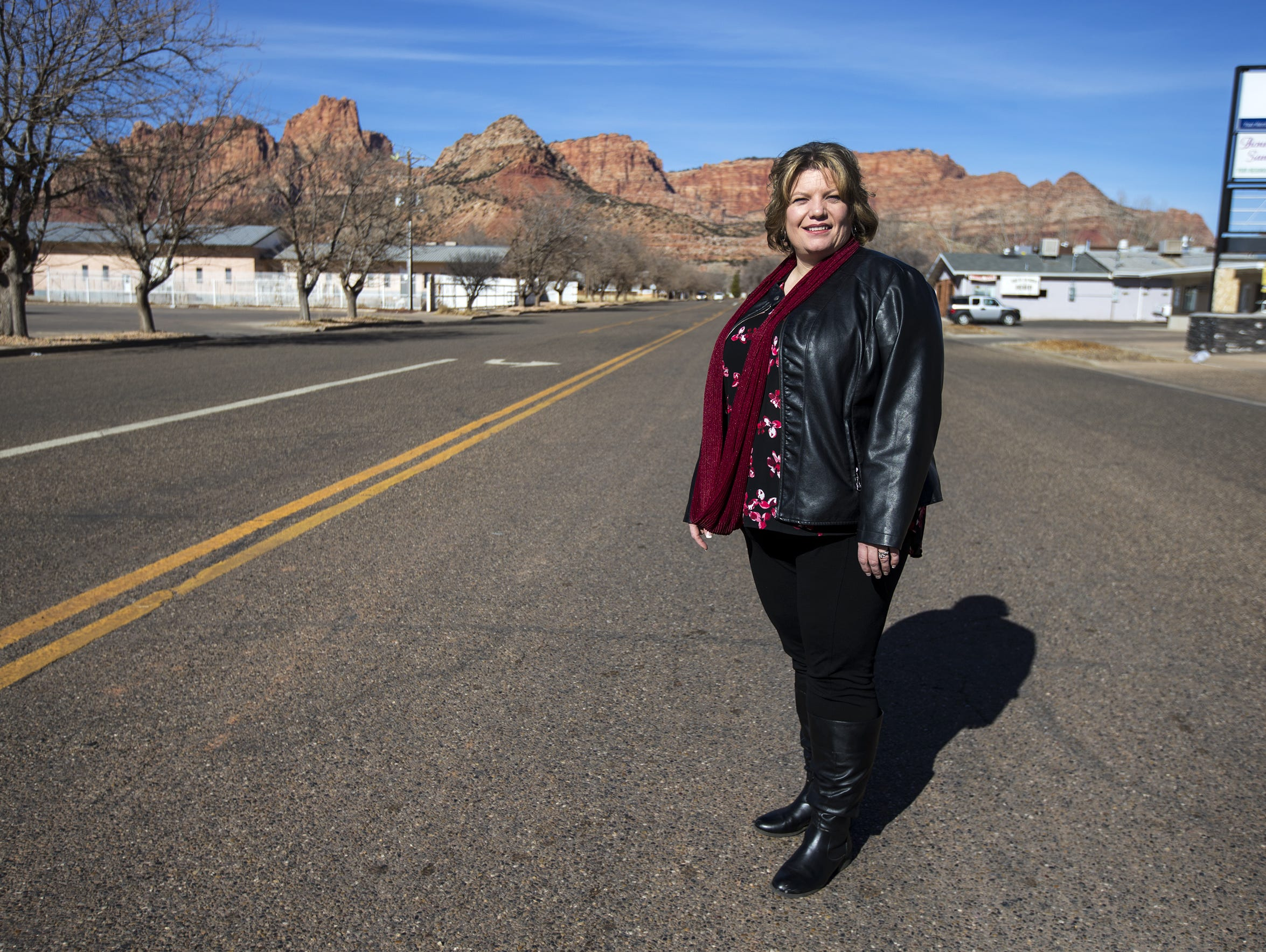 Donia Jessop, the current mayor of Hildale, Utah, is