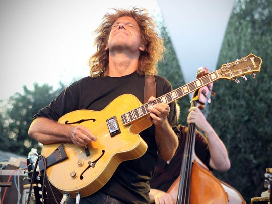 Jazz guitarist Pat Metheny will perform Tuesday and