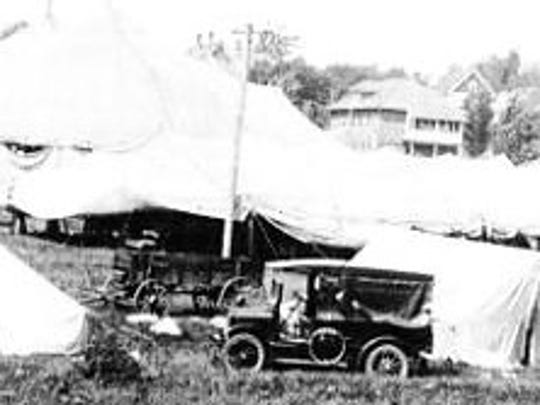The R.T. Richards Circus as seen in 1917.