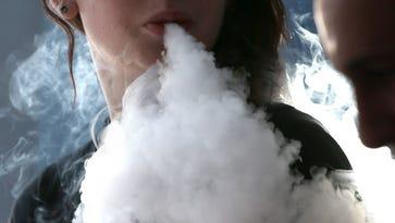 E-cig smoker.