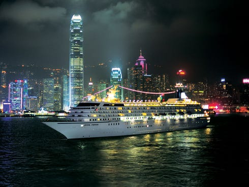If your New Year's resolution is to cross a few places off of your bucket list, consider a world cruise. You can sail to Hong Kong in style.