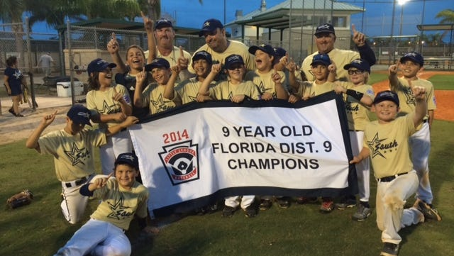 South Fort Myers LL 9-year-old all-star team