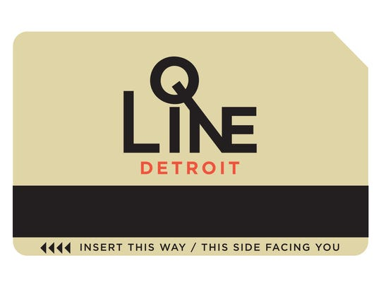 The ticket for  QLINE.