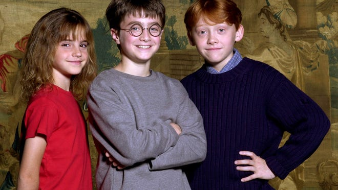 The World Met Daniel Radcliffe Emma Watson And Rupert Grint Exactly 15 Years Ago