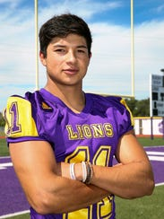 Ozona High School's Kobe Rodriguez capped a brilliant career with a strong senior season in 2017.