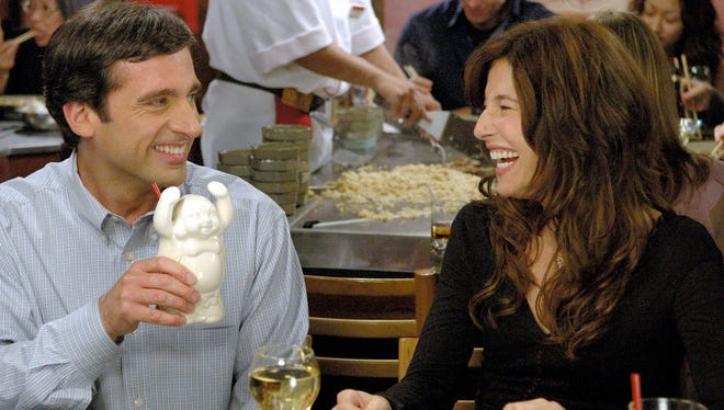 """Steve Carell (left) and Catherine Keener appear in a scene from """"The 40-Year-Old Virgin."""""""