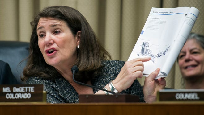 Congresswoman Diana DeGette, a Democrat from Denver, introduced the latest version of the Colorado Wilderness Act on Tuesday.