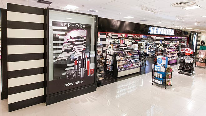 The Sephora inside JCPenney location in Denton, Texas.