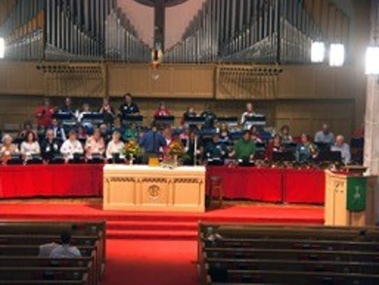 Several local churches will combine for a handbell