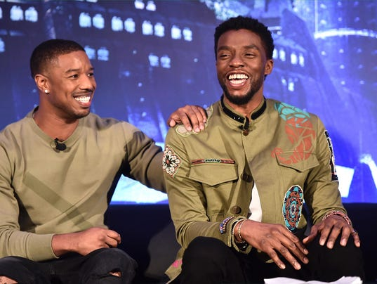 BESTPIX -Marvel Studios' BLACK PANTHER Global Junket Press Conference