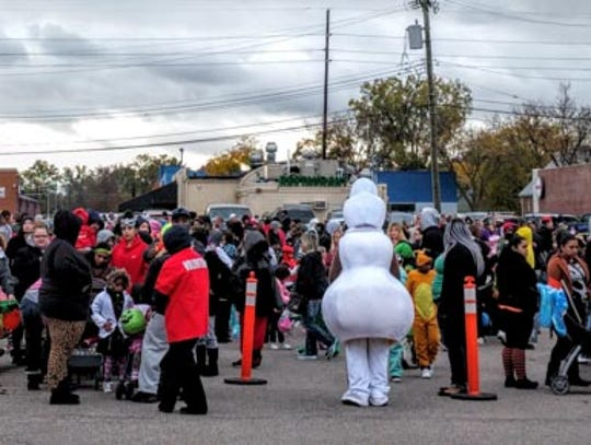 This year's Trunk or Treat drew record crowds.