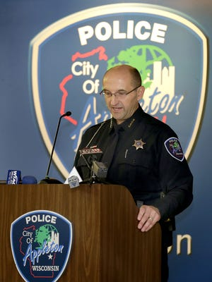 Appleton Police Chief Todd Thomas