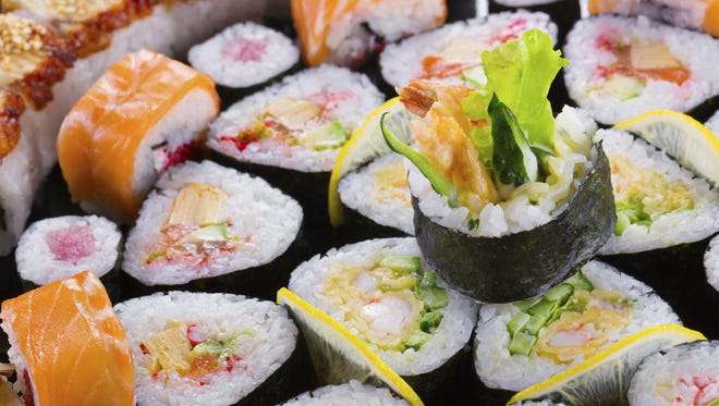 There are about 4,000 sushi restaurants in the United States.