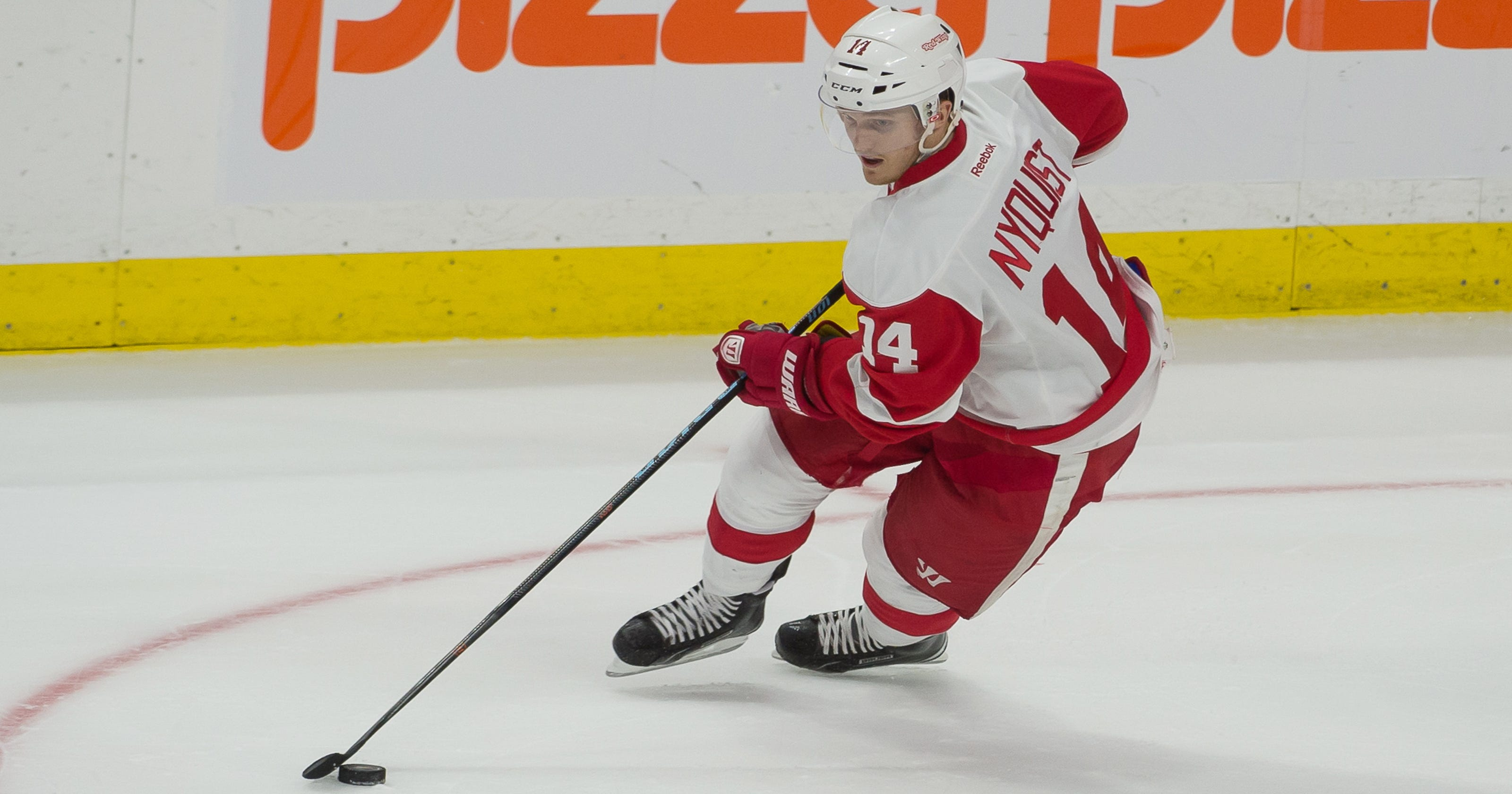 Nyquist scores in OT to lead Red Wings over Senators 3-2 3c9aa12bf