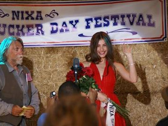The television pilot of 'Beauty Queen Murders' dramatized the Nixa Sucker Days pageant as part of its feature on Jackie