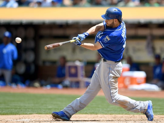 Eric Hosmer and the Royals are playing way above what oddsmakers are predicting.