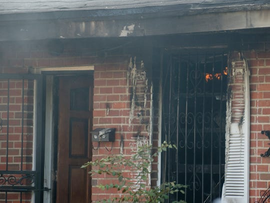 Montgomery Firefighters respond to a structure fire