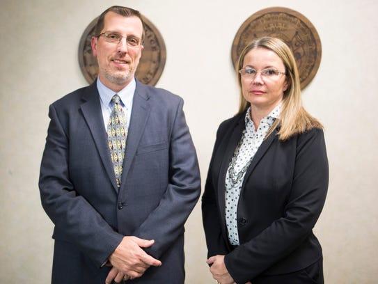 Lead investigators in the Kohlhepp case, Charlynn Ezell