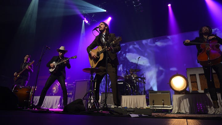 The Avett Brothers, seen here performing at the Resch