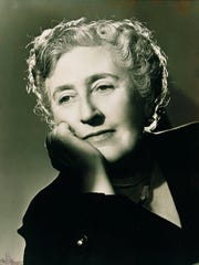 Agatha Christie, queen of the mystery.