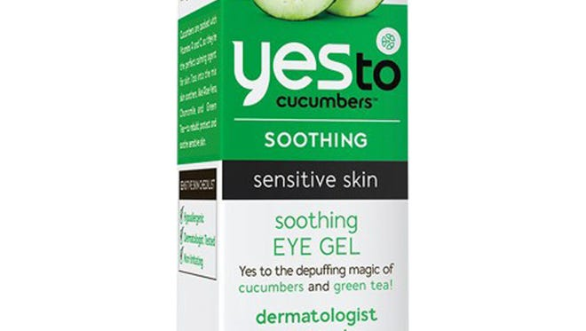 9. END DAY COOL AS A CUCUMBER. Yes to Cucumbers Soothing Eye Gel, $14.99, Ulta.