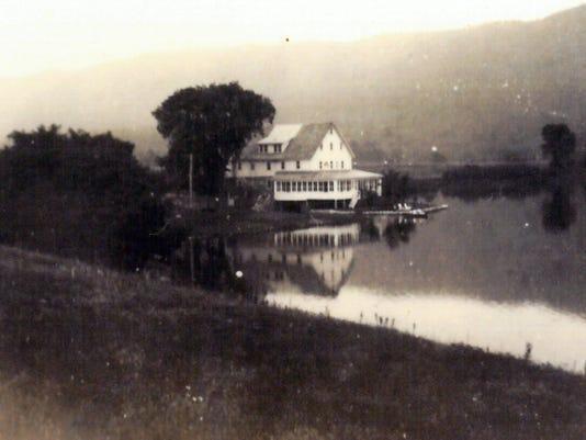 McAllen's Mill on Fannettsburg Lake, Fannettsburg.