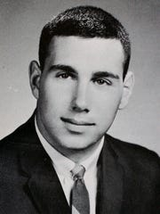 Metuchen High School is researching an inaugural Hall of Fame induction class.This is a yearbook photo of Scott Cowen,Tulane University President Emeritus (Humanitarian and Service Contributor, Class of 1964).