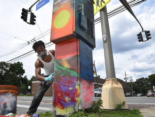 "Artists selected for Creative Hackensack's ""Utility"