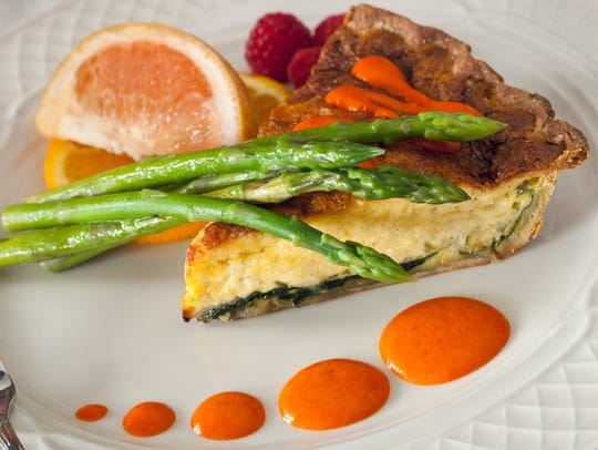 Old Rittenhouse Inn in Bayfield serves this vegetarian
