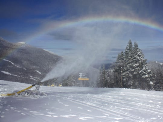 Although the average snowfall is 314 inches a season,