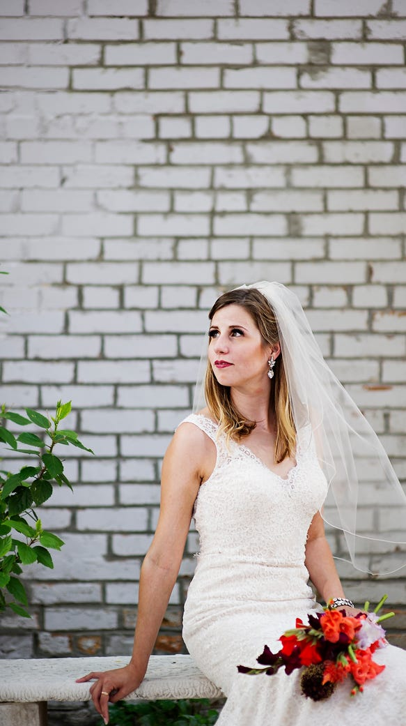 Wedding Fashion shoot in Valley Junction with Caitlin