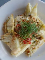 The must-try roasted fennel antipasti (gratinato di
