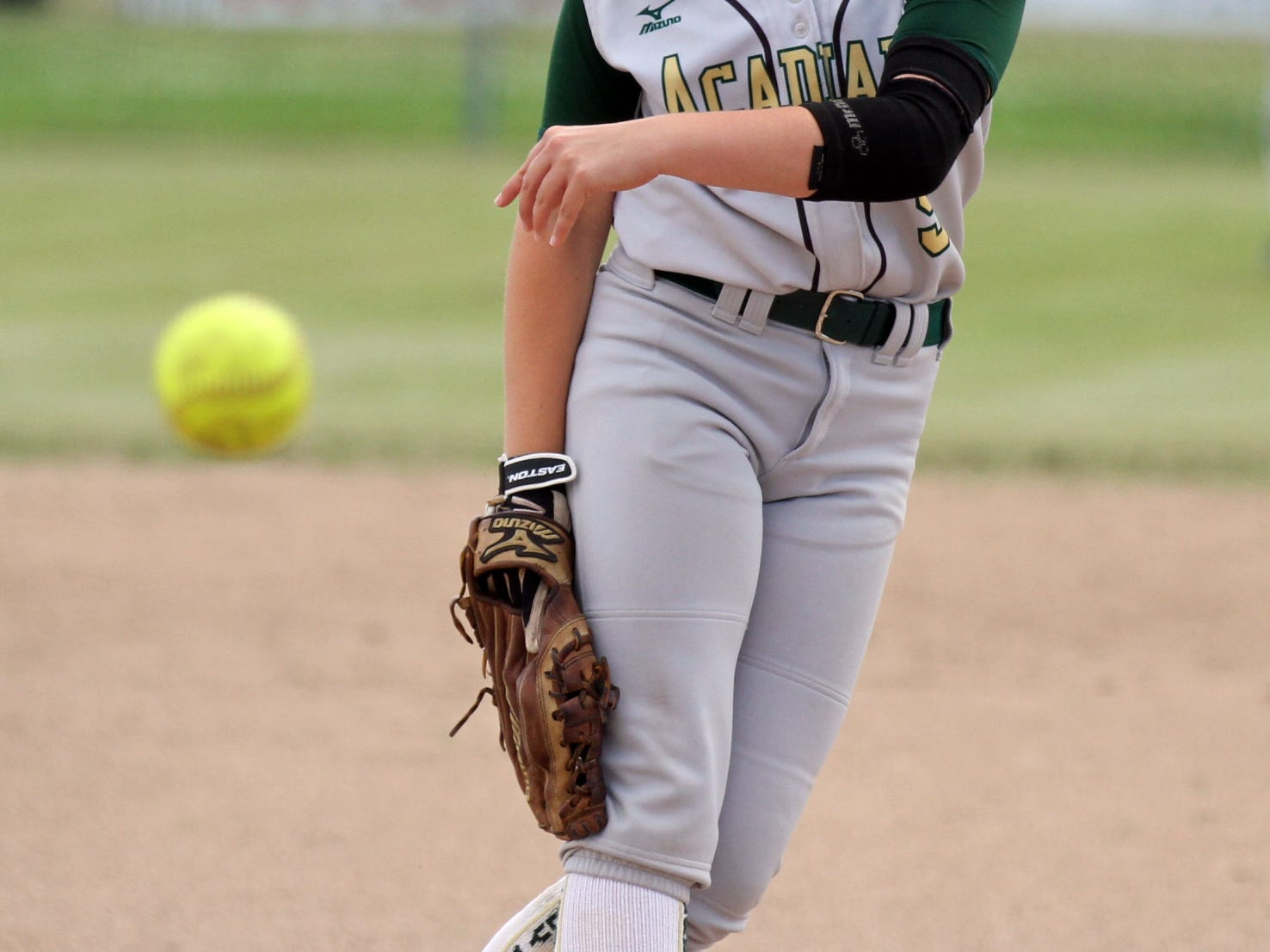 Acadiana High pitcher Dorrie Cormier and the Lady Rams are headed to the state playoffs for the first time since 1995.
