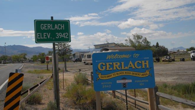Gerlach, Nevada on July 5, 2015.