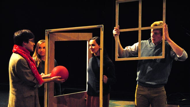 """An all-student cast and crew will present """"A Wrinkle in Time"""" Oct. 30-31 at the ASNMSU Center for the Arts."""
