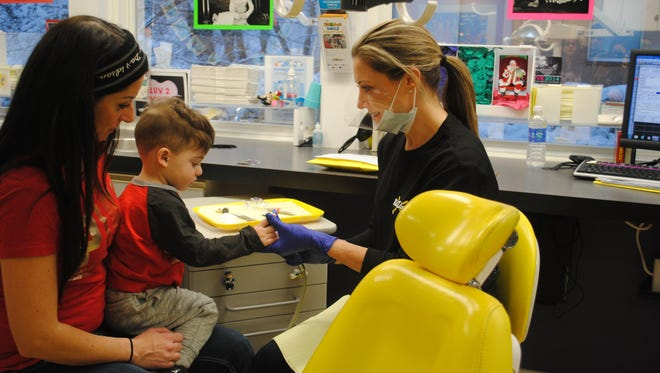 KidZdent in Old Bridge provided free dental care to children on Friday in conjunction with Give Kids a Smile Day.
